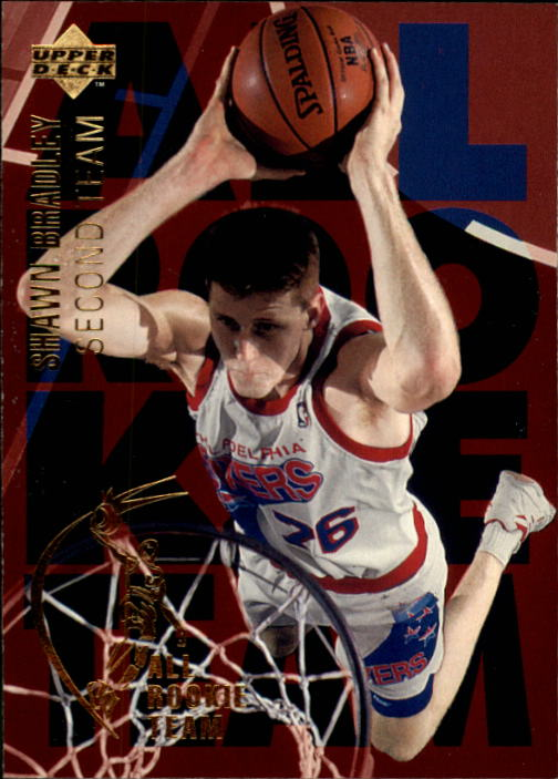 1994-95 Upper Deck #8 Shawn Bradley ART