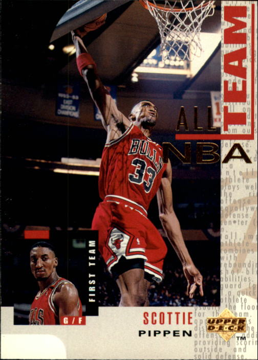 1994-95 Upper Deck #11 Scottie Pippen AN