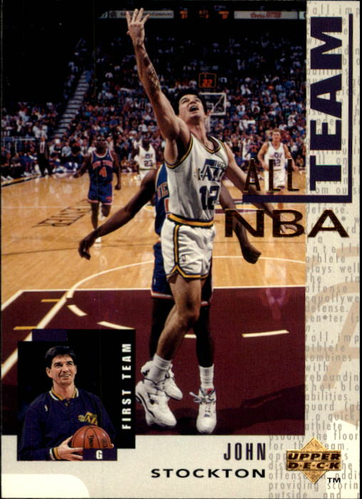 1994-95 Upper Deck #14 John Stockton AN
