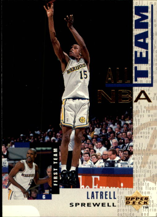 1994-95 Upper Deck #15 Latrell Sprewell AN