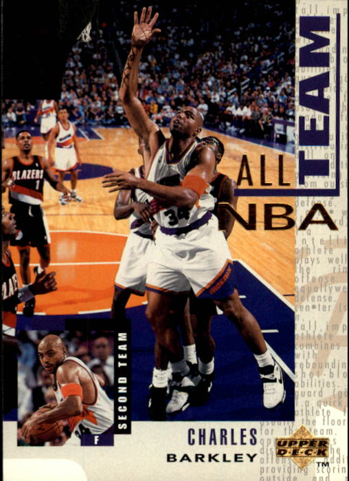 1994-95 Upper Deck #17 Charles Barkley AN