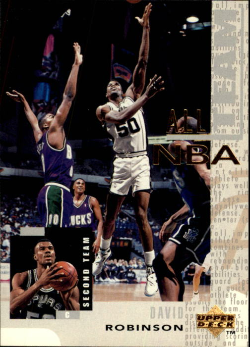 1994-95 Upper Deck #18 David Robinson AN