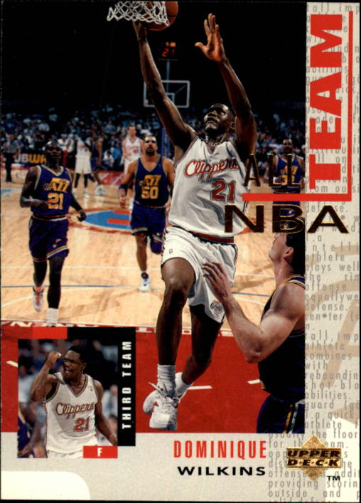 1994-95 Upper Deck #22 Dominique Wilkins AN