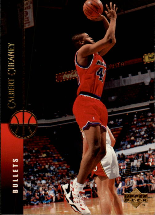 1994-95 Upper Deck #40 Calbert Cheaney