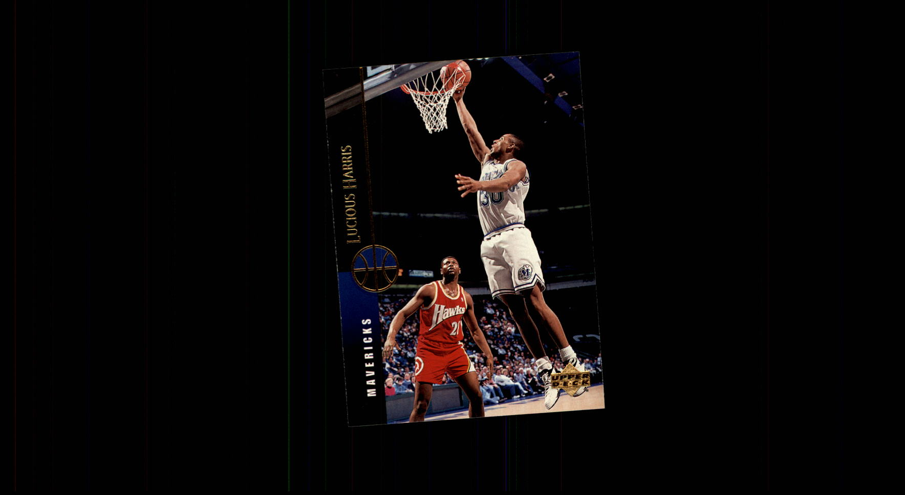 1994-95 Upper Deck #49 Lucious Harris