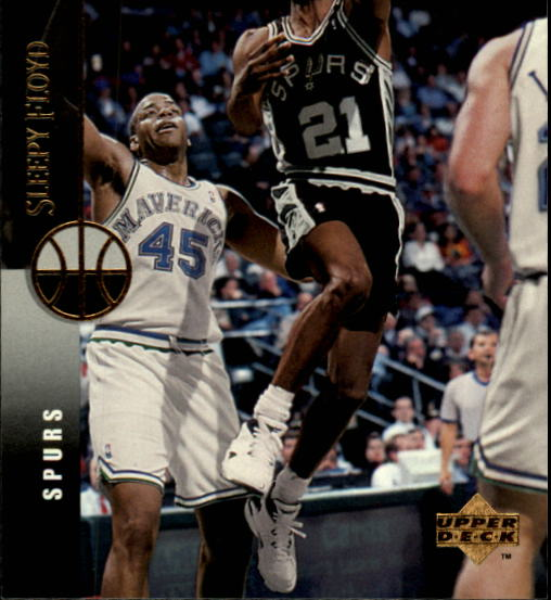 1994-95 Upper Deck #83 Sleepy Floyd