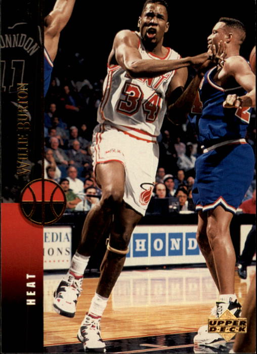 1994-95 Upper Deck #92 Willie Burton