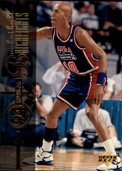 1994-95 Upper Deck #175 Reggie Miller USA