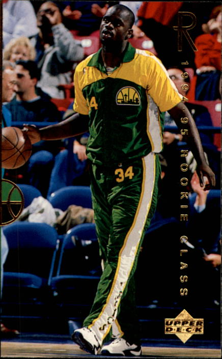 1994-95 Upper Deck #298 Dontonio Wingfield RC