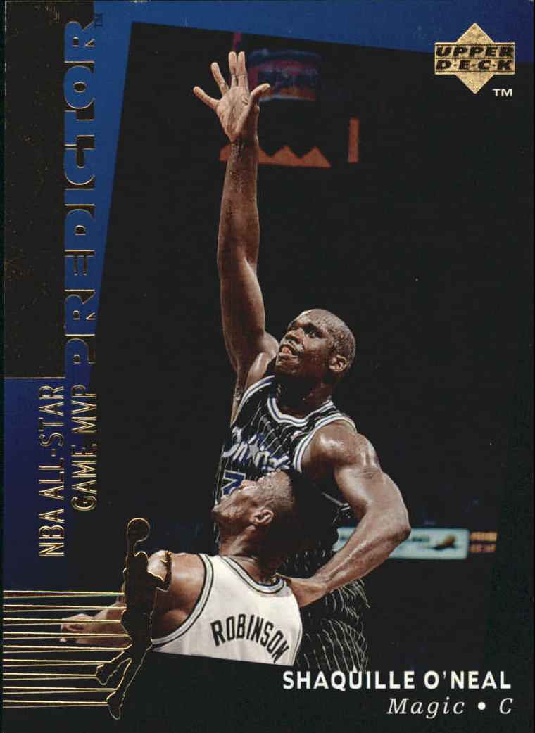 1994-95 Upper Deck Predictor Award Winners Redemption #H3 Shaquille O'Neal