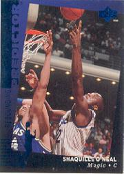1994-95 Upper Deck Predictor League Leaders Redemption #R21 Shaquille O'Neal