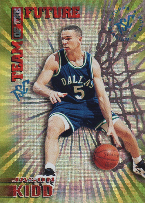 1994-95 Stadium Club Team of the Future #6 Jason Kidd