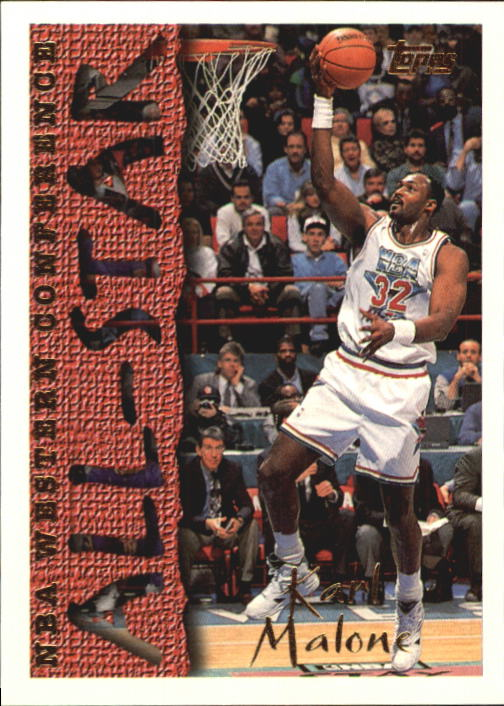 1994-95 Topps #185 Karl Malone AS