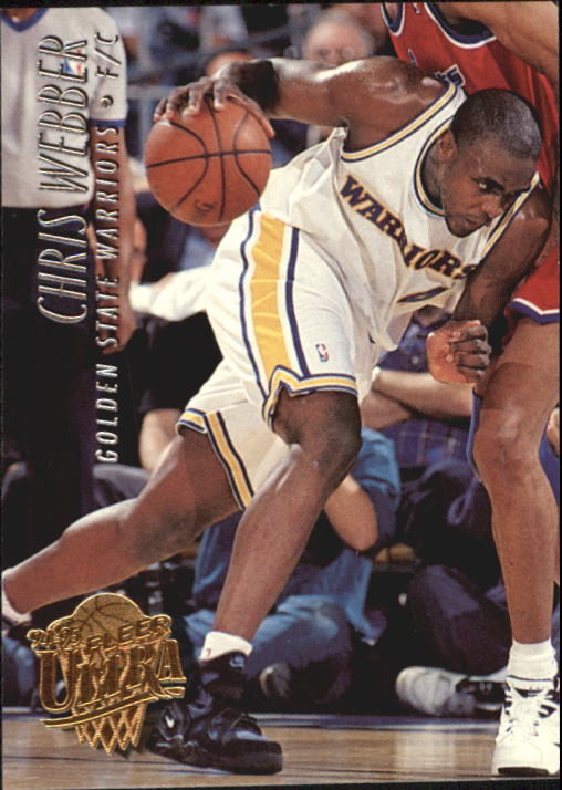 1994-95 Ultra #64 Chris Webber