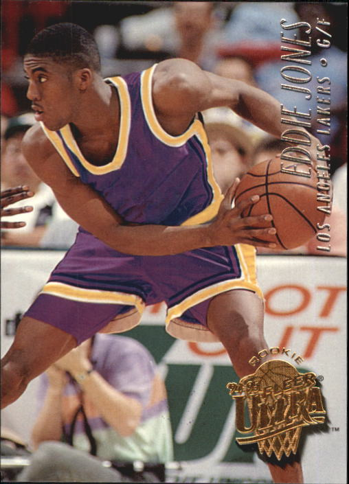1994-95 Ultra #87 Eddie Jones RC