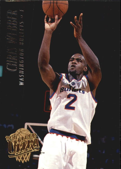 1994-95 Ultra #348 Chris Webber
