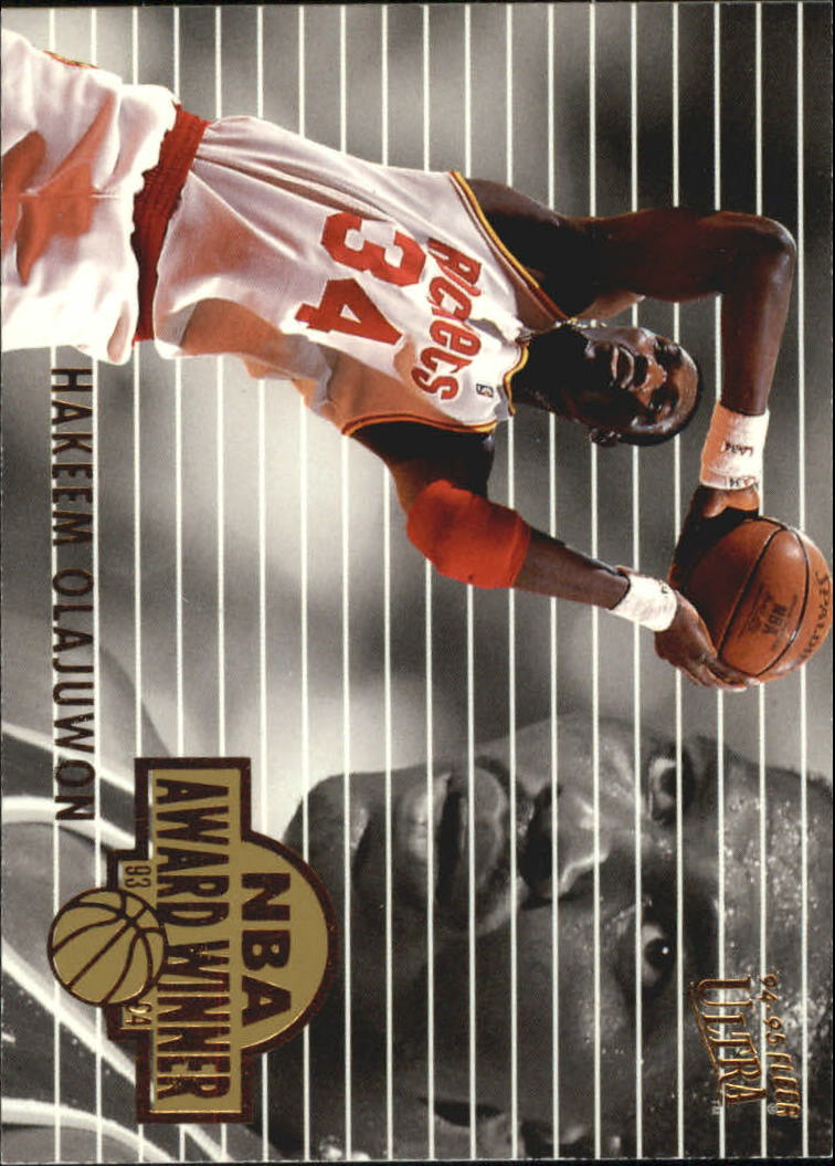 1994-95 Ultra Award Winners #3 Hakeem Olajuwon