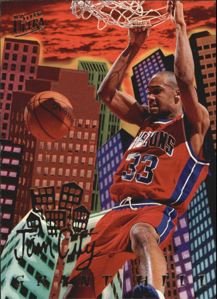1994-95 Ultra Jam City #2 Grant Hill