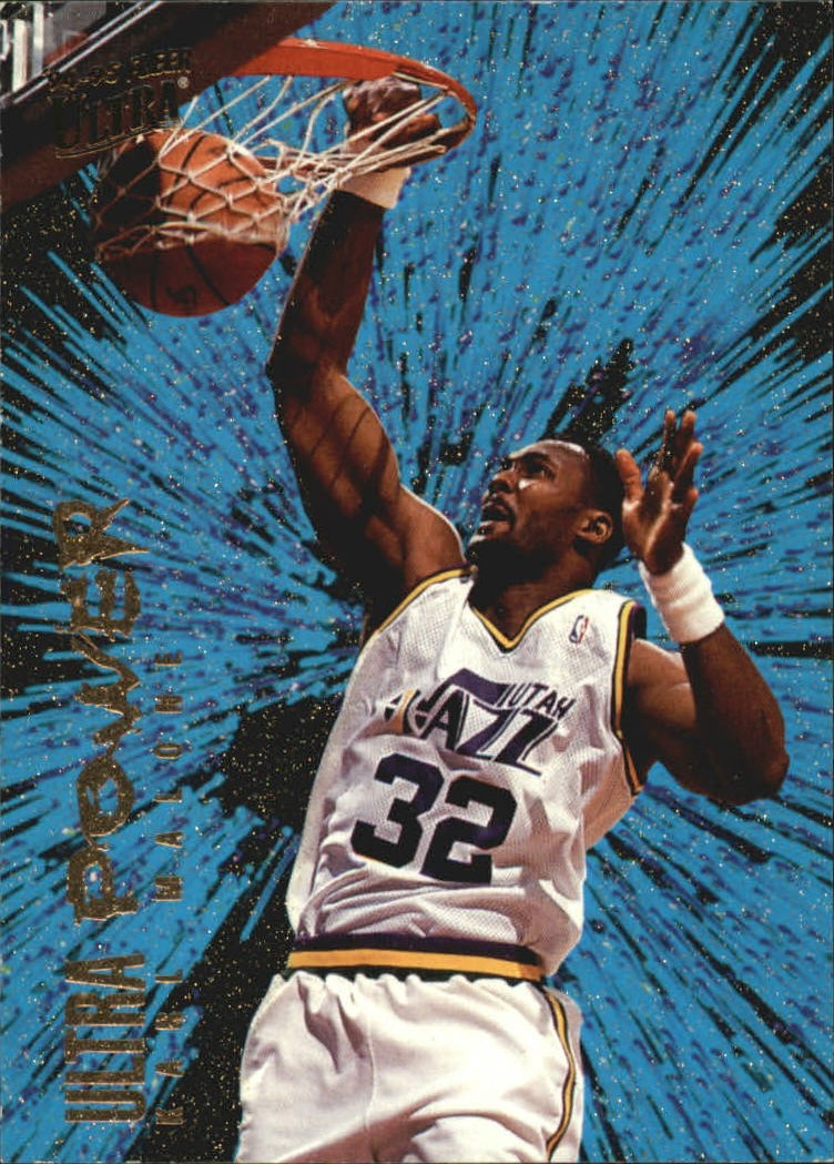 1994-95 Ultra Power #5 Karl Malone