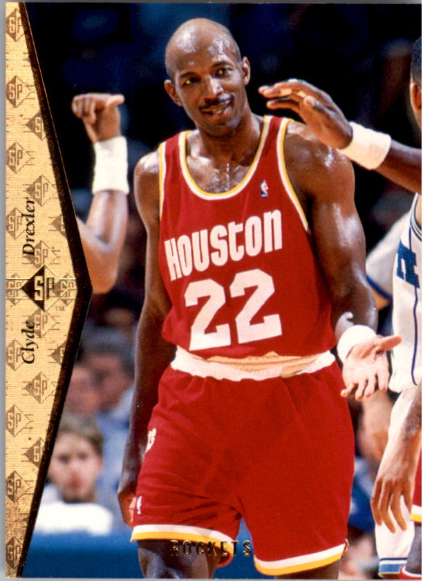 1994-95 SP #77 Clyde Drexler
