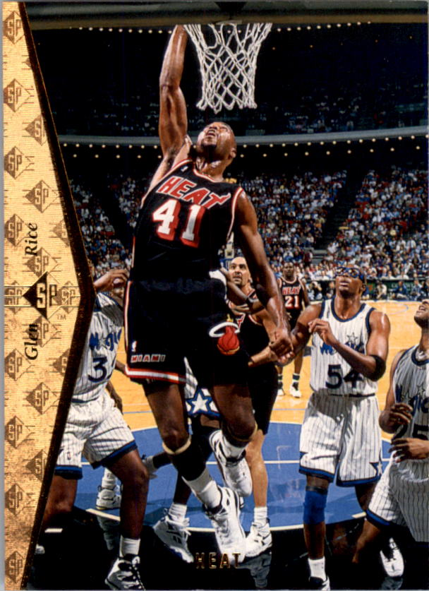 1994-95 SP #96 Glen Rice