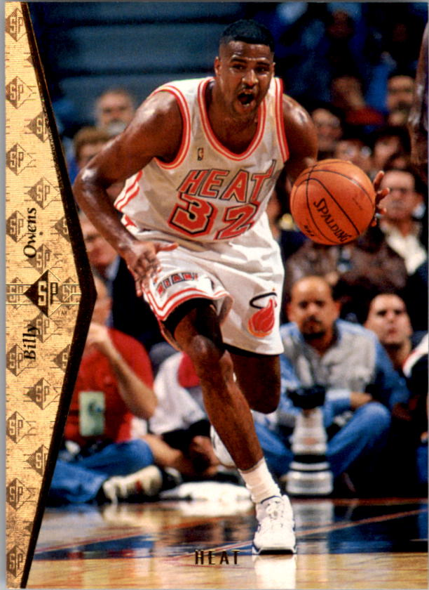 1994-95 SP #98 Billy Owens