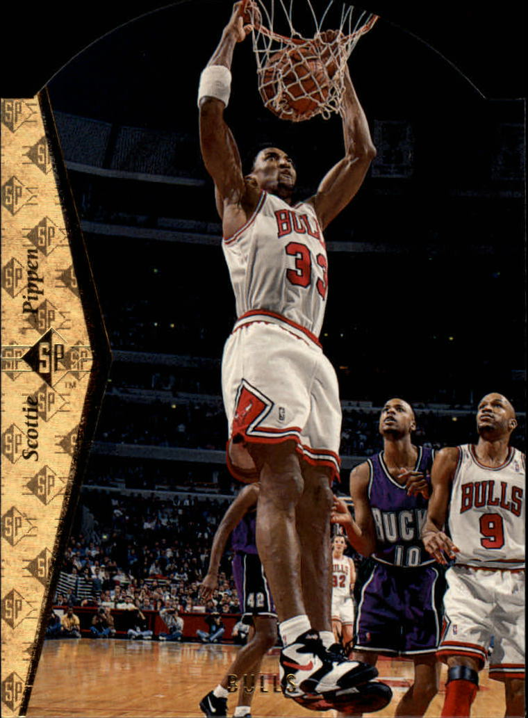 1994-95 SP Die Cuts #D46 Scottie Pippen front image