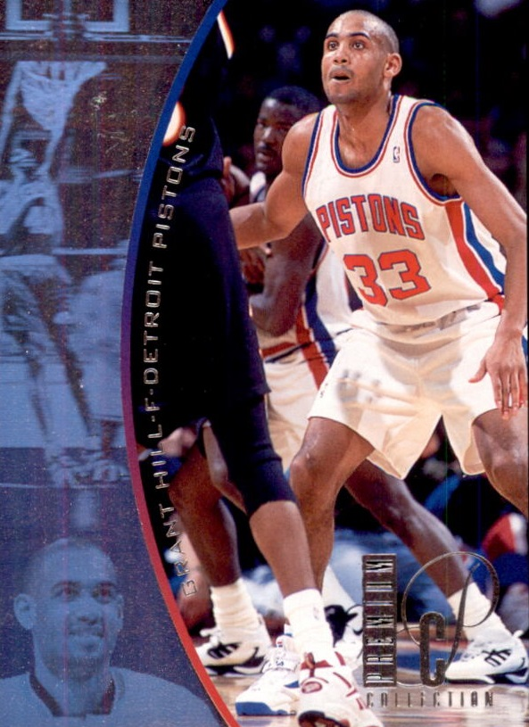 1994-95 SP Holoviews #PC34 Grant Hill