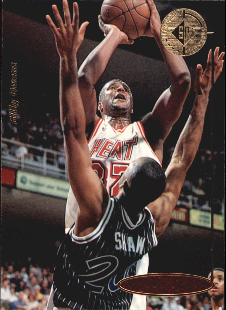 1994-95 SP Championship #81 Billy Owens
