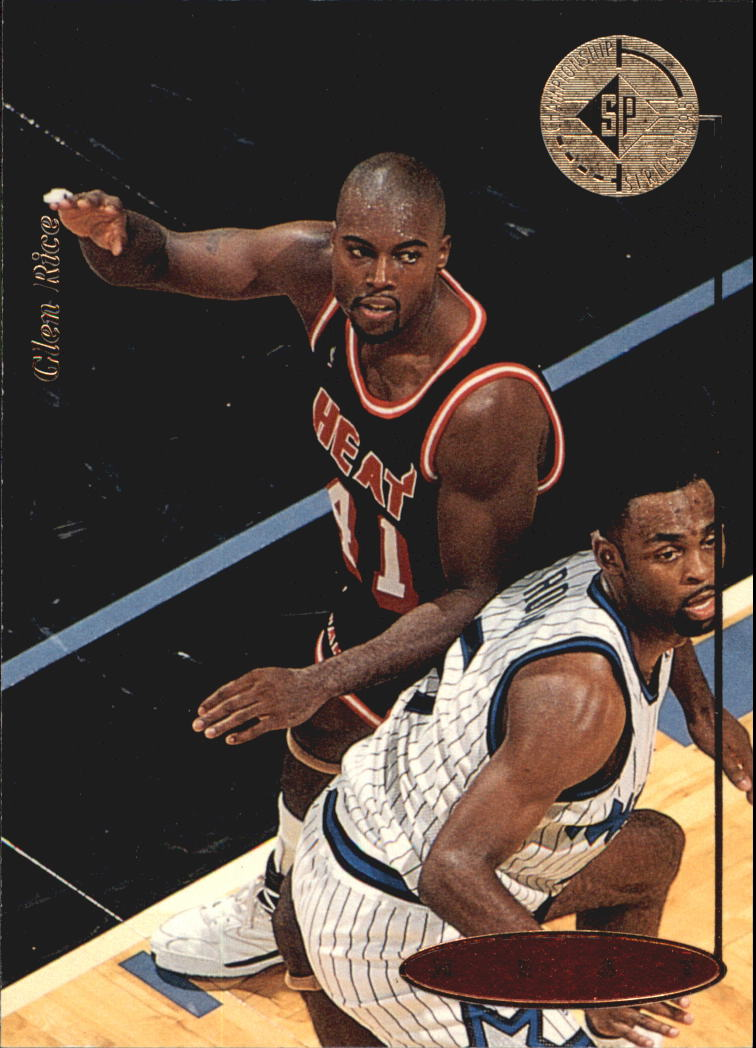 1994-95 SP Championship #82 Glen Rice