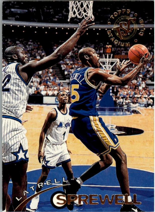 1994-95 Stadium Club #45 Latrell Sprewell