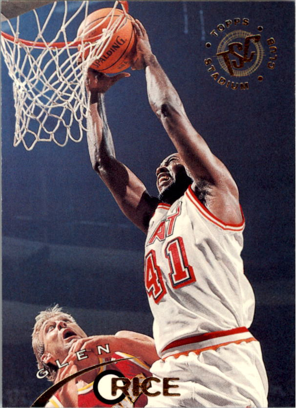 1994-95 Stadium Club #80 Glen Rice