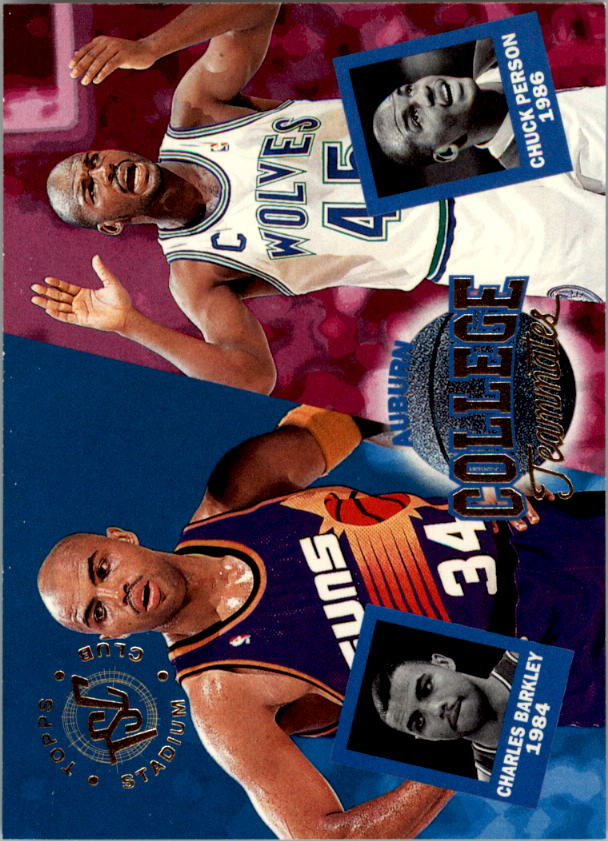 1994-95 Stadium Club #101 Chuck Person CT/Charles Barkley CT