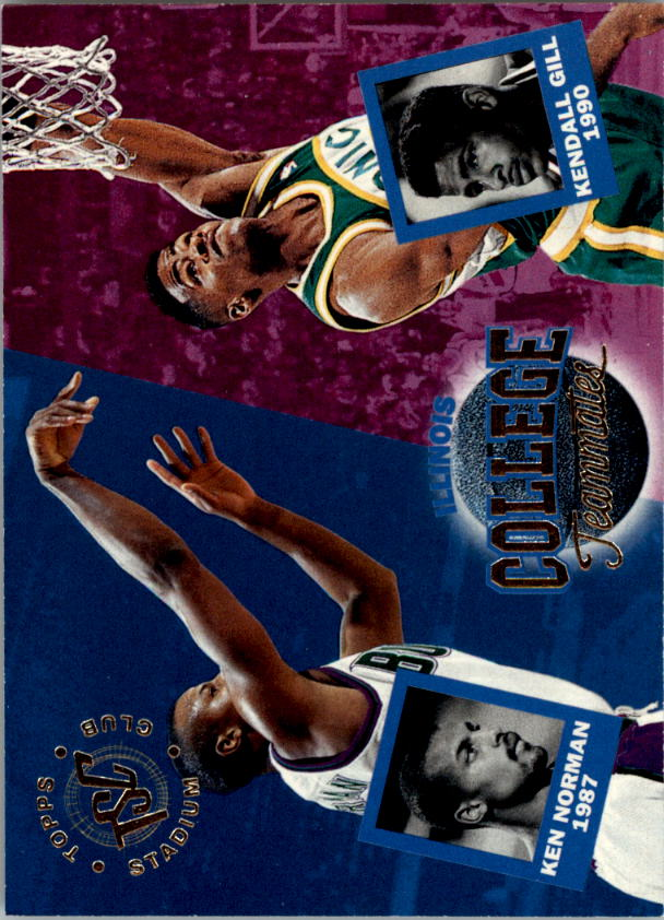 1994-95 Stadium Club #109 Kendall Gill CT/Ken Norman CT