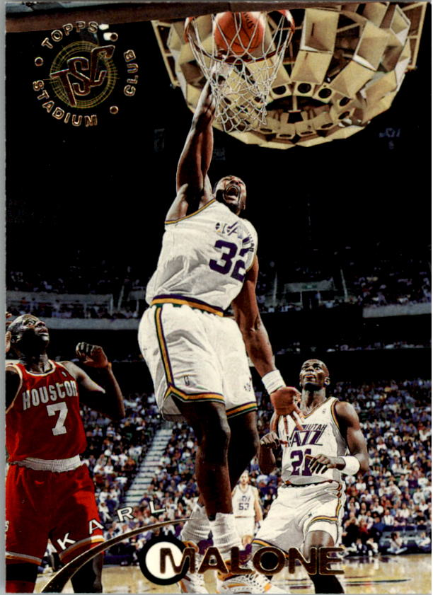 1994-95 Stadium Club #161 Karl Malone