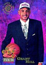 1994-95 Stadium Club #181 Grant Hill RC