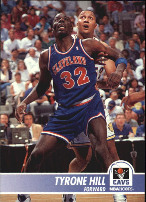 1994-95 Hoops #34 Tyrone Hill