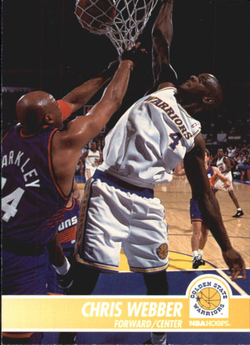 1994-95 Hoops #71 Chris Webber