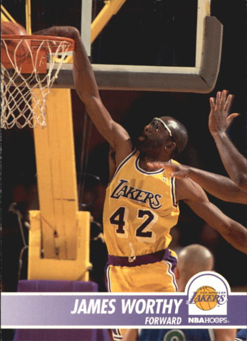 1994-95 Hoops #106 James Worthy