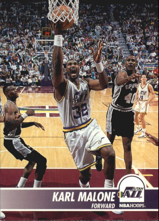 1994-95 Hoops #211 Karl Malone