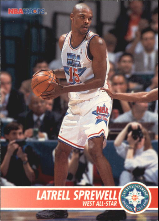1994-95 Hoops #249 Latrell Sprewell AS
