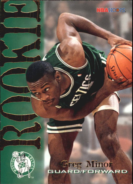 1994-95 Hoops #307 Greg Minor RC