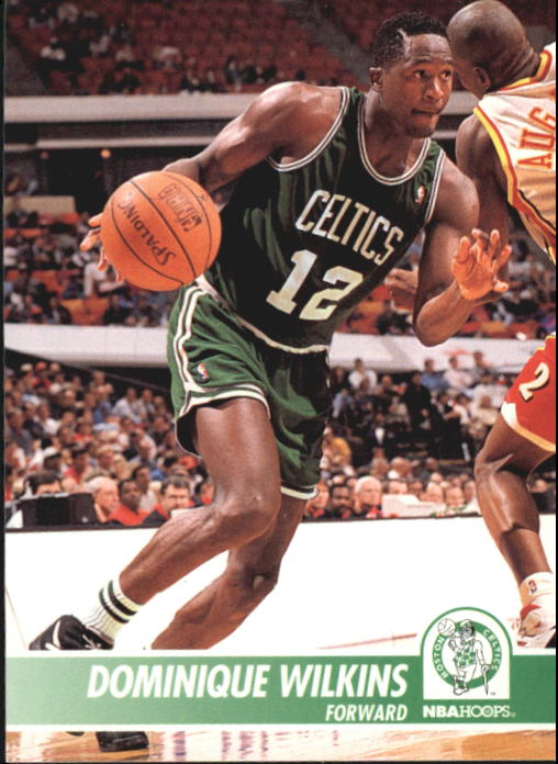 1994-95 Hoops #309 Dominique Wilkins