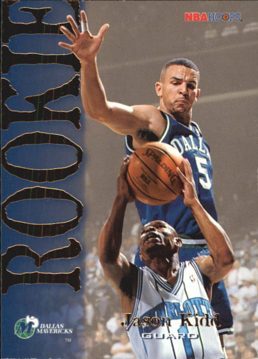 1994-95 Hoops #317 Jason Kidd RC