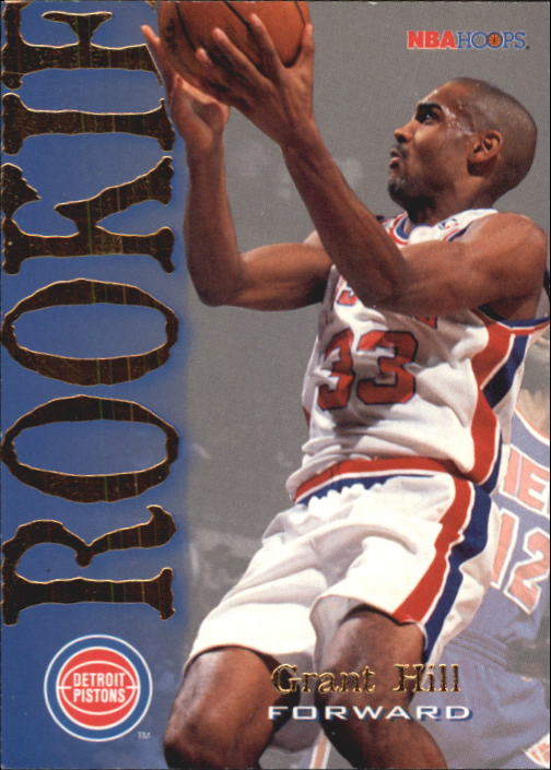 1994-95 Hoops #322 Grant Hill RC