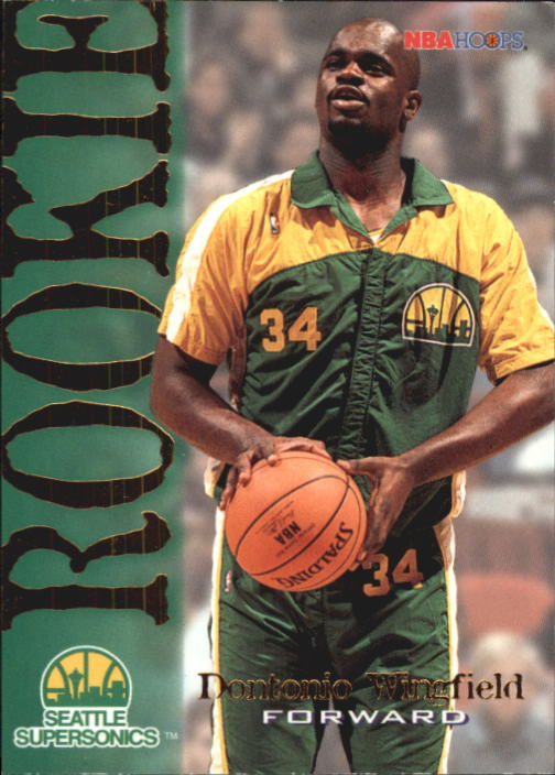 1994-95 Hoops #375 Dontonio Wingfield RC