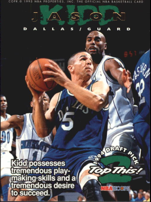 1994-95 Hoops #422 Jason Kidd TOP/Shawn Bradley