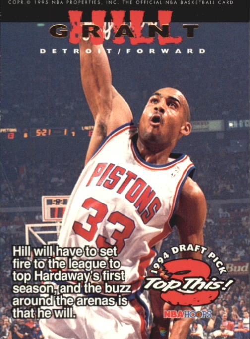 1994-95 Hoops #423 Grant Hill TOP/Anfernee Hardaway