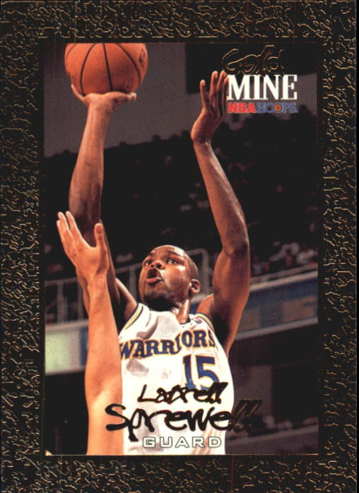 1994-95 Hoops #435 Latrell Sprewell GM