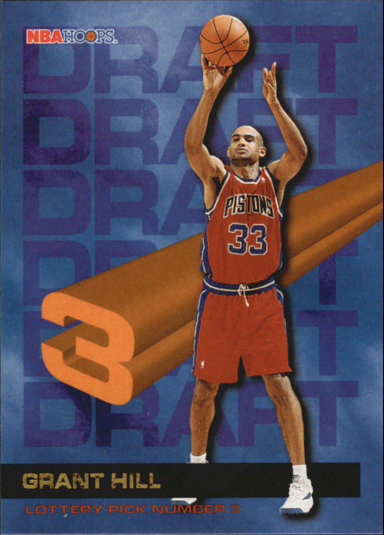 1994-95 Hoops Draft Redemption #3 Grant Hill